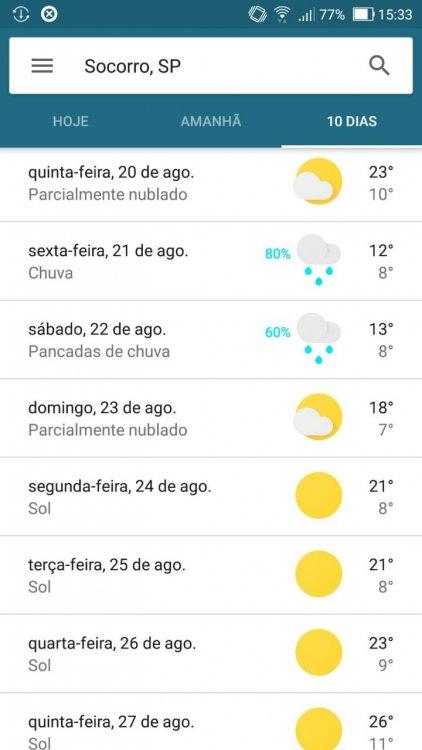 App Clima Google  Socorro SP 19 Agosto 2020 P01.jpeg